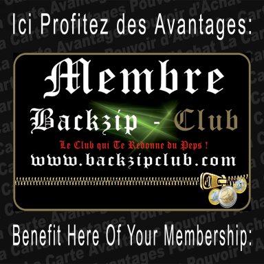 Backzipclub.com.......Le Club qui te redonne du Peps!..........The Club Thats Powers You Up!